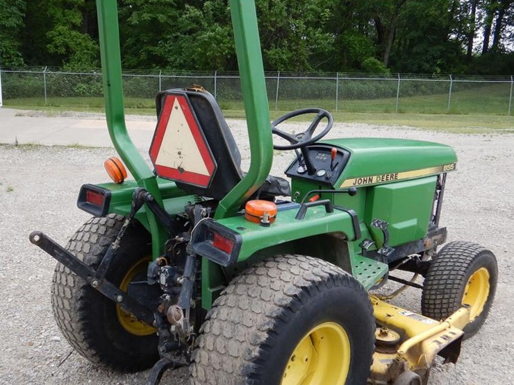 2003 John Deere 855 - Lot #DY9835, Online Only Government