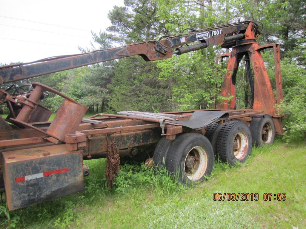 Prentice F90 Log Loader