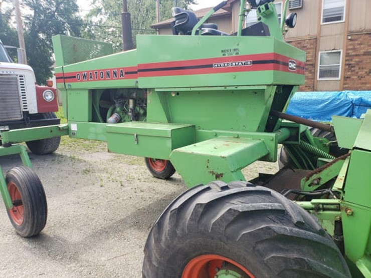 Owatonna Swather (ME499) - Lot #586, Online Only Equipment