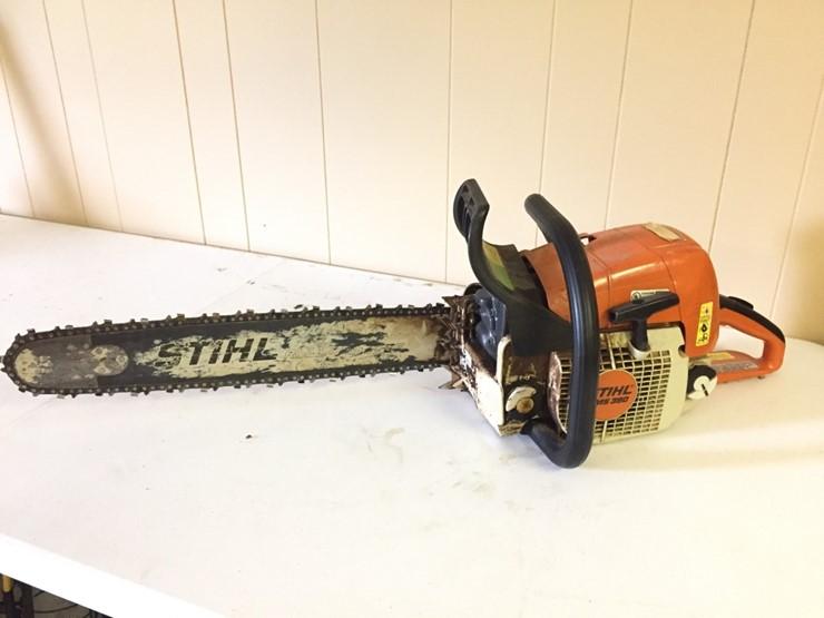 STIHL Chainsaw Model MS 390 - Lot #604, Equpiment Auction, 6/22/2019