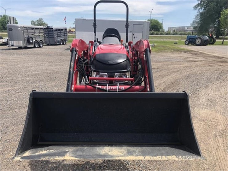 2016 Mahindra 1538 - Lot #59, Online Only Equipment Auction, 6/25