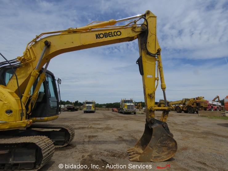 2011 Kobelco SK140SR LC - Lot #, Online Only Equipment Auction, 7/2