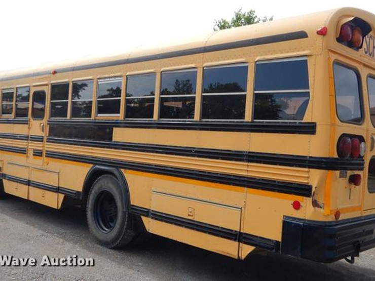 1995 Blue Bird TC2000 - Lot #ED9304, Online Only Government Auction