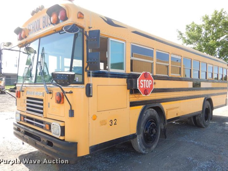 1994 Blue Bird TC2000 - Lot #ED9303, Online Only Government