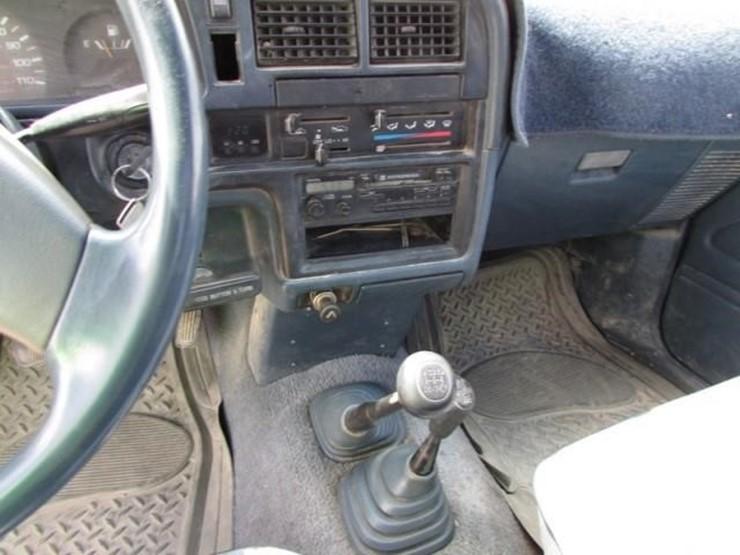 G-962 1989 Toyota 4X4 Pickup - Lot #, 2019 July Farm & Heavy