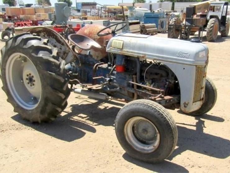 1950 Ford 8N - Lot #, 2019 July Farm & Heavy Equipment