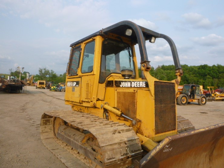 1996 Deere 650G LGP IV Lot 4834 Construction