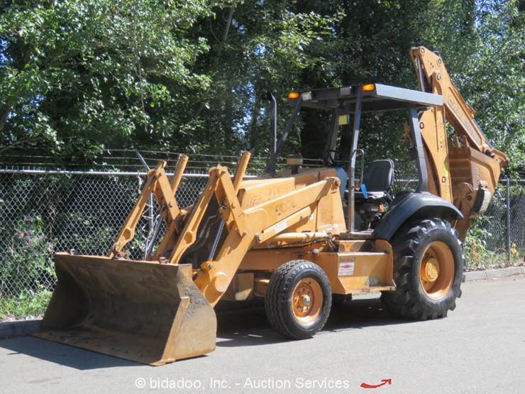 2000 Case 580L - Lot #, Online Only Equipment Auction, 8/1/2019