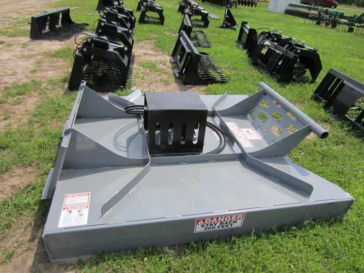 New Skidsteer Brush Mower - Prairie Farm WI - Lot #1601