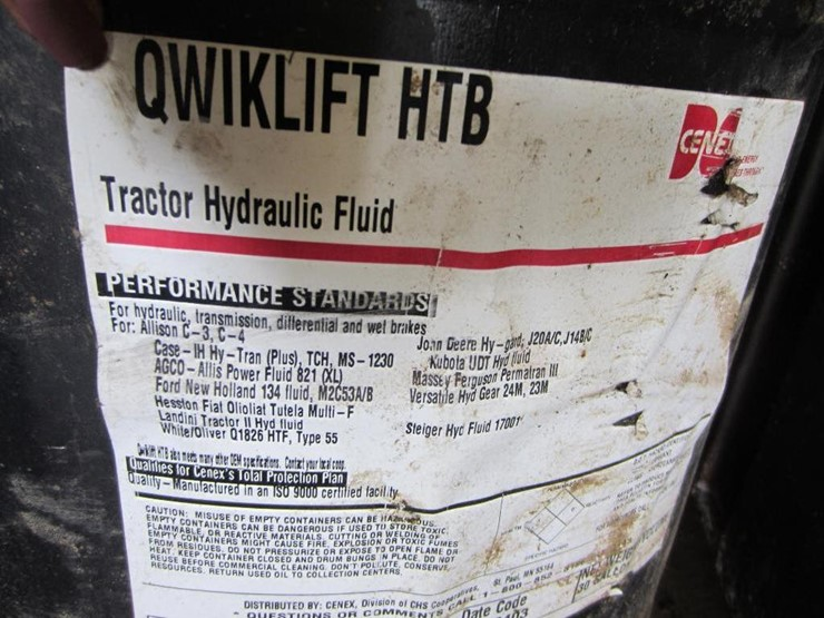 Barrels of Oil - Lot #2458, Online Only Equipment Auction, 8