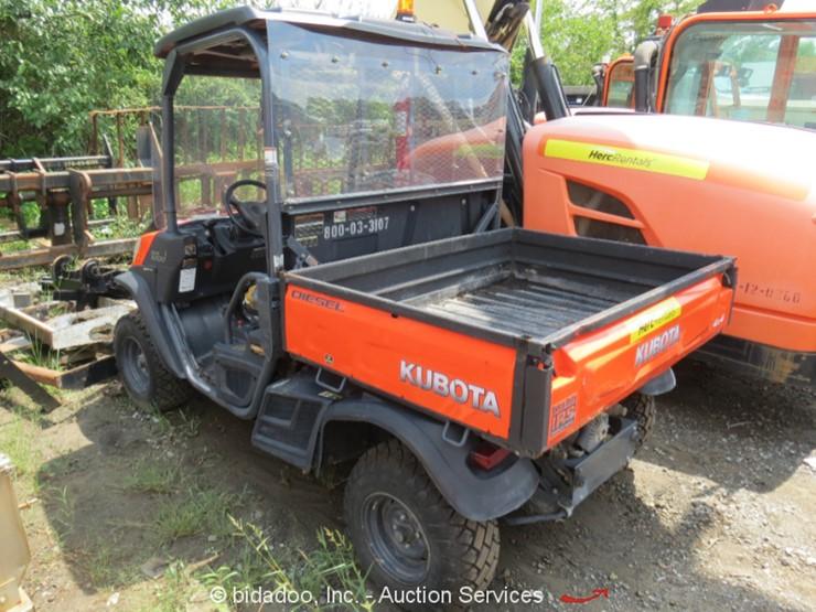 2014 Kubota RTV-X900 - Lot #, Online Only Equipment Auction