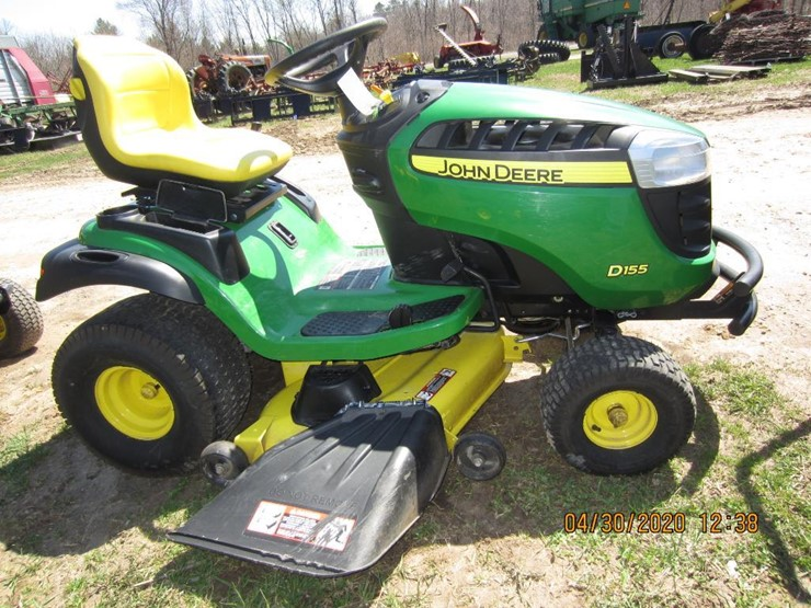 2017 John Deere D155 Lot 4813 Online Only Equipment Auction 5 18 2020 Hansen Young Inc Auction Resource