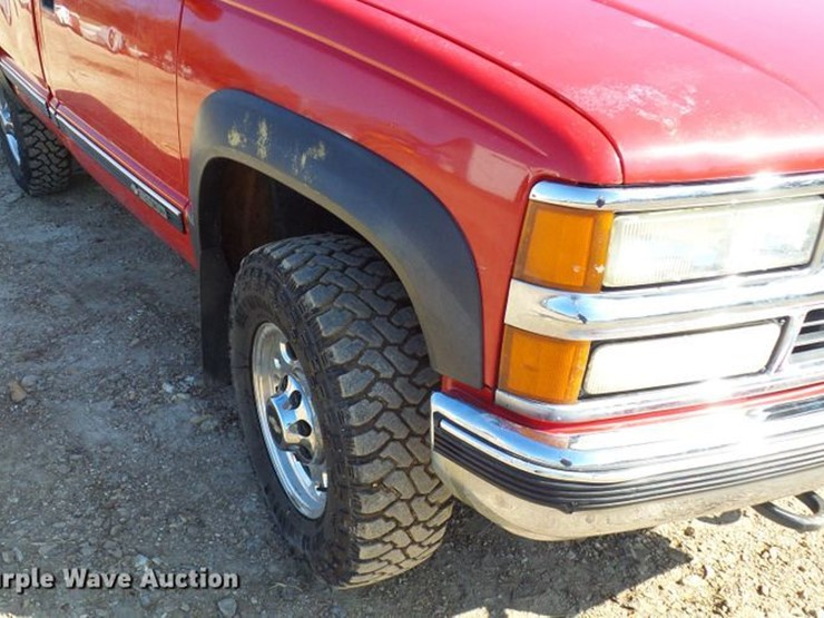 1998 chevrolet k2500 - lot #dc2896, online only vehicle